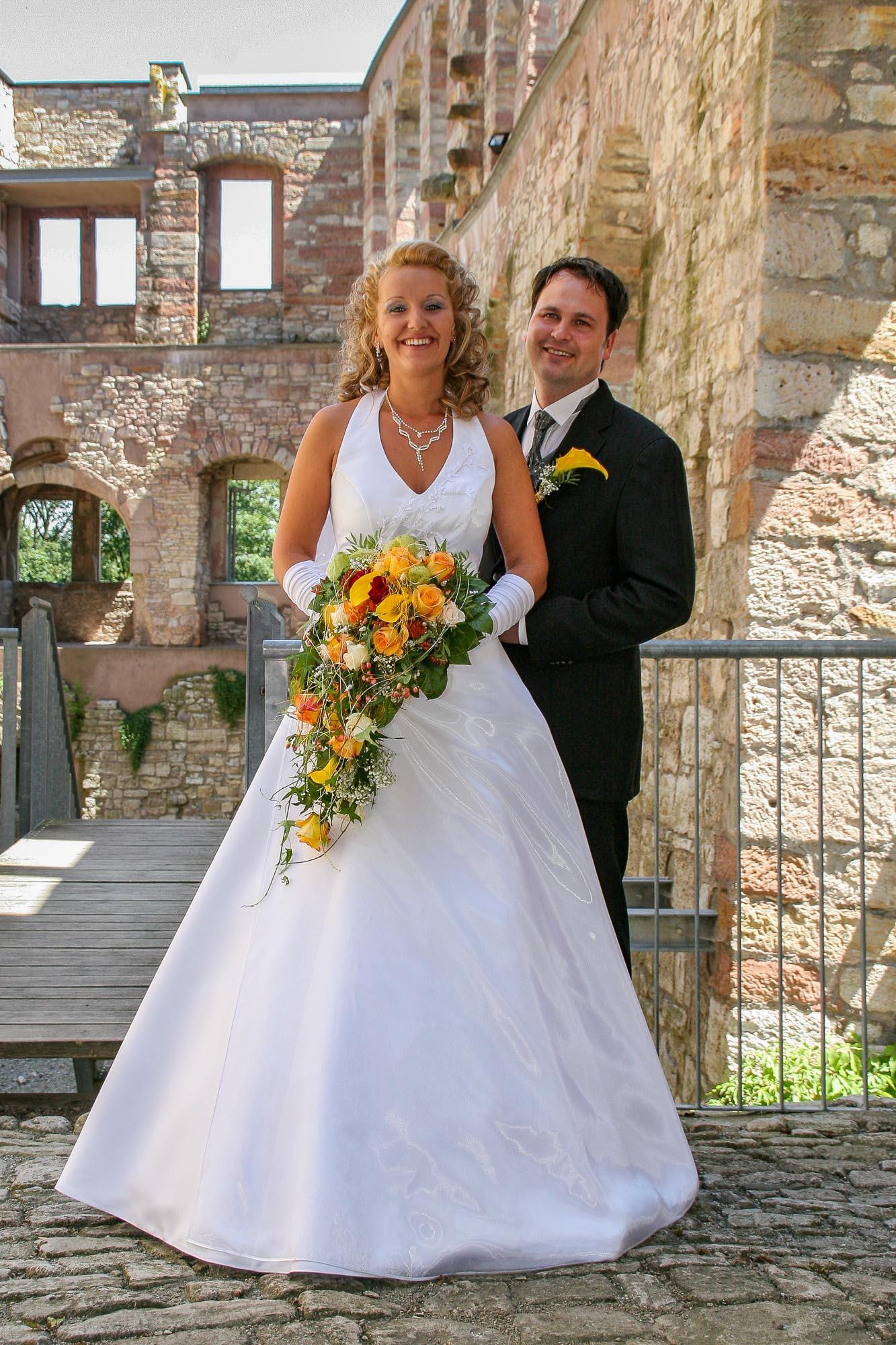 Hochzeit in Kranichfeld