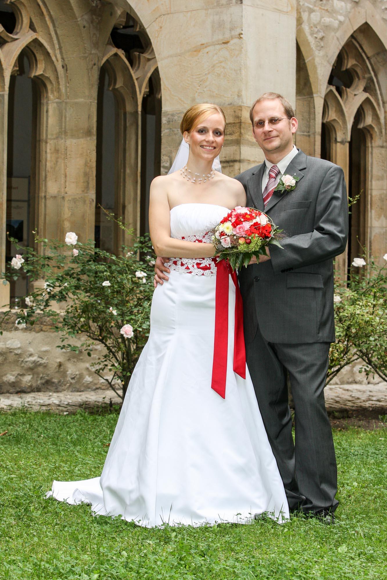 Hochzeitsshooting im Augustinerkloster und Park