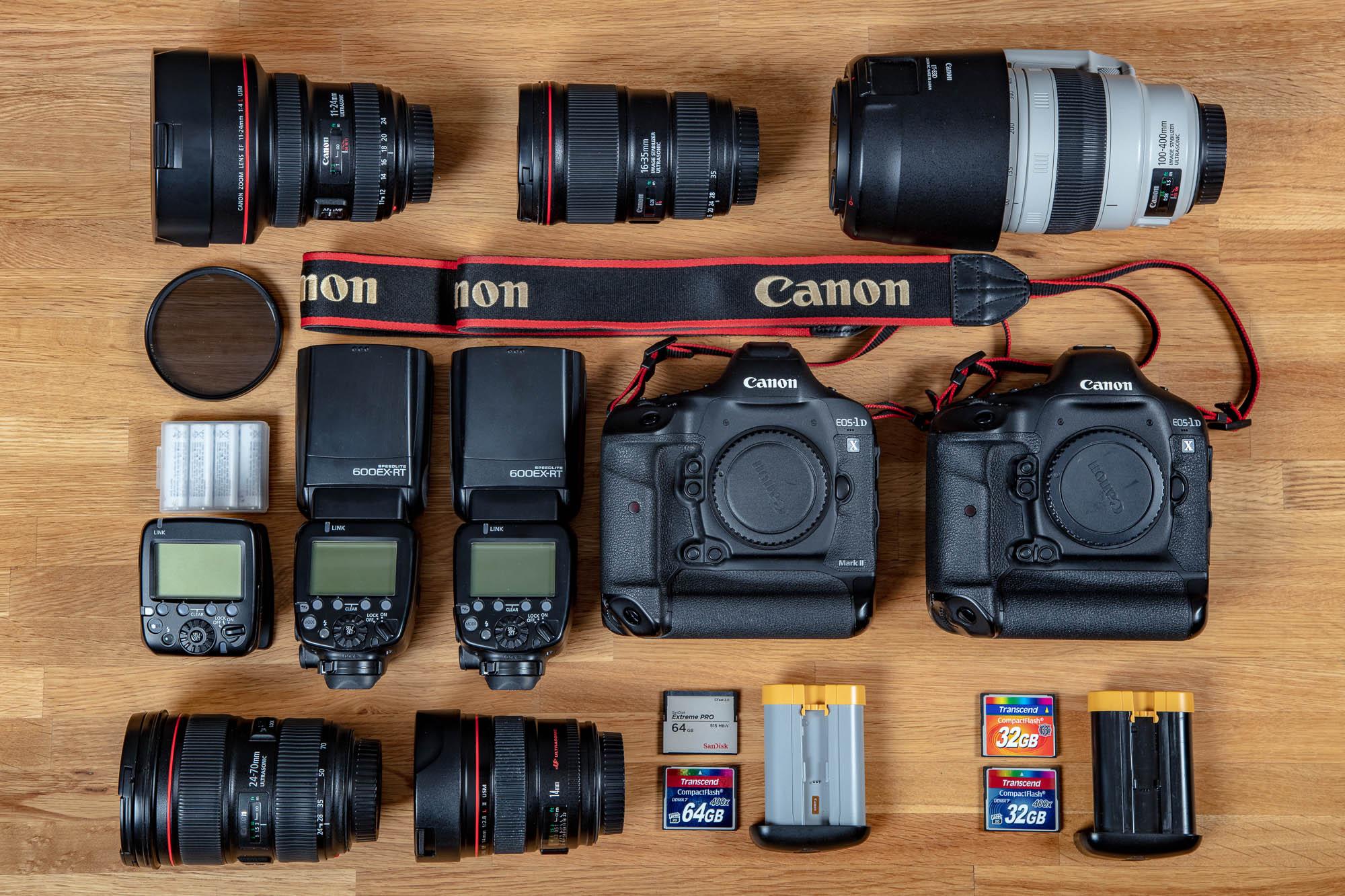 Ausstattung zur Reportagefotografie von Matthias F. Schmidt
